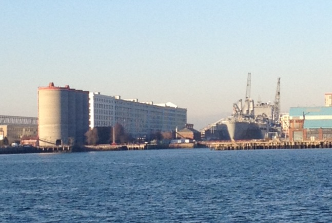boston harbor drydock