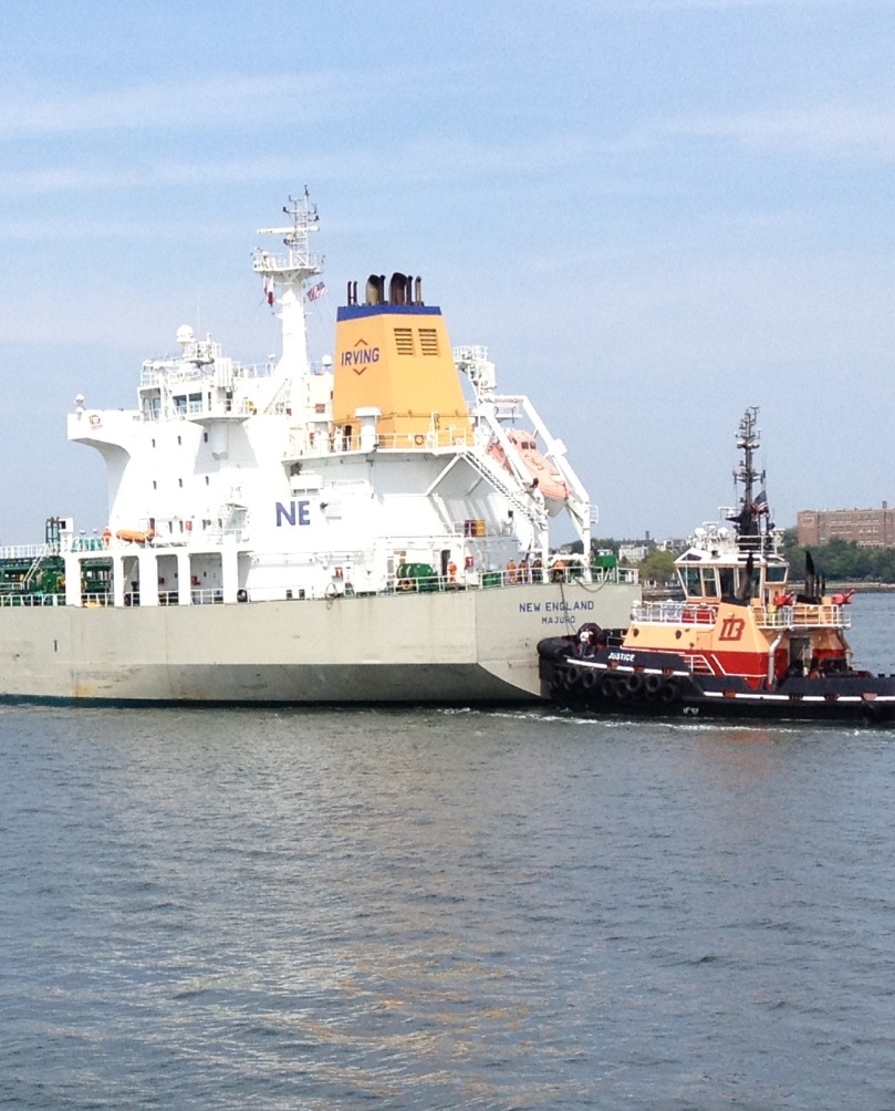 Boston Harbor Tanker