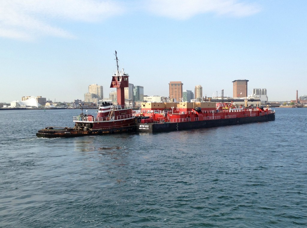 Boston Harbor Tug Boat